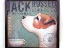 Framed Jack Russell Coffee