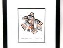 Framed Bill Reid Art Card