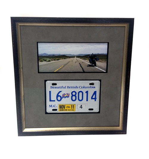Teeth License Plate Frame