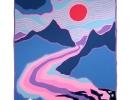 Ted Harrison Art Vancouver - Kluane