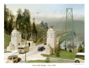 Lions Gate Bridge 1940 photo