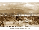 Vancouver Kingsway and Main 1913 sepia photograph