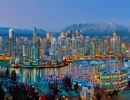 Vancouver Twilight panorama Manfred Kraus photo