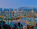 Vancouver Twilight panorama Manfred Kraus photo