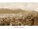 Vintage Vancouver 1915 sepia photo panorama