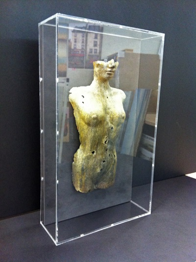 plexi glass box figure