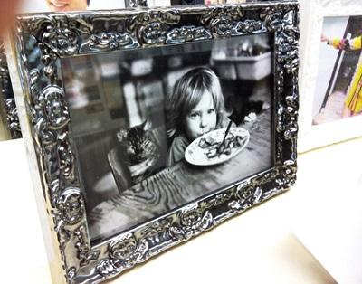 Roma electra photo frame