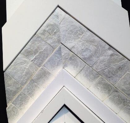 Picture Frame Mouldings - Larson-Juhl's capiz shell frames