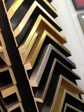Picture Frame Mouldings - selection of canvas floater frames