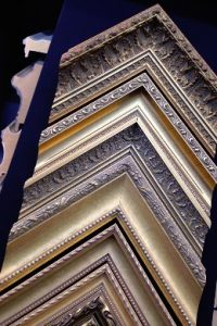 Picture Frame Mouldings -Traditional ornate gold frames