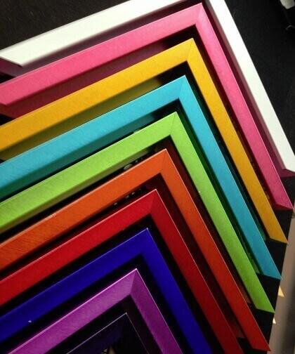 Picture Frame Mouldings - Metal Frame Collection