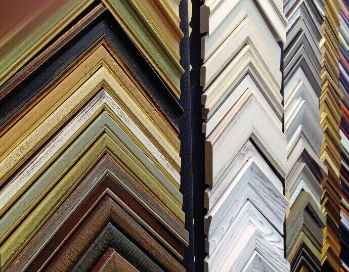 Picture Frame Moulding Samples