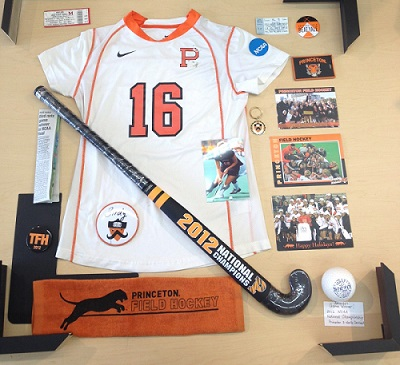 Field Hockey Shadow Box Initial Layout