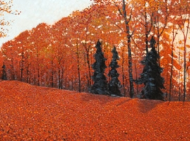 Canadian Fall Painting