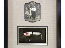 Flying Fish Framed