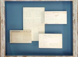 Recipe Cards Framed