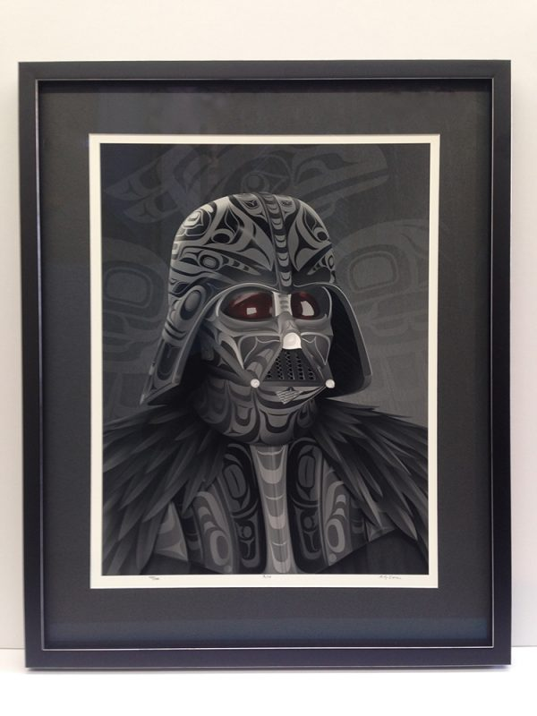 Andy Everson Framing